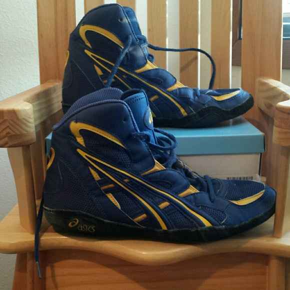 6b408f3c641d Asics Other - Asics rare Neptune Les Gutches wrestling shoes